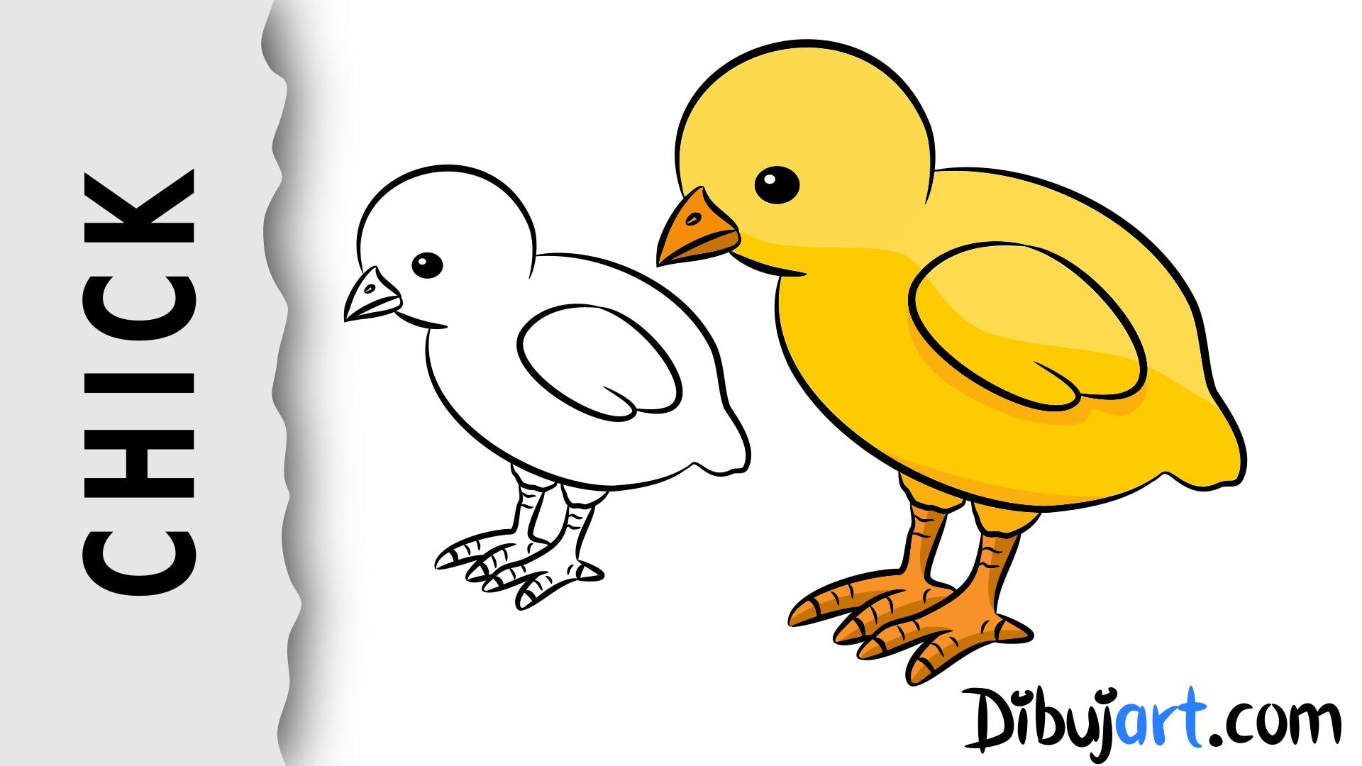 1920x1080 How To Draw A Baby Chick Wie Zeichnet Man Ein