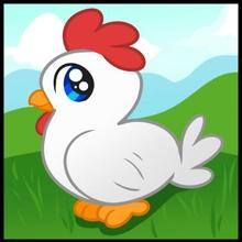 220x220 How To Draw How To Draw A Chicken For Kids