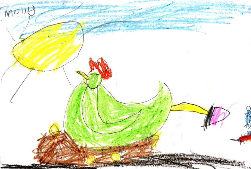 1000x675 Mollymoocrafts Little Green Hen Amp The Sly Fox
