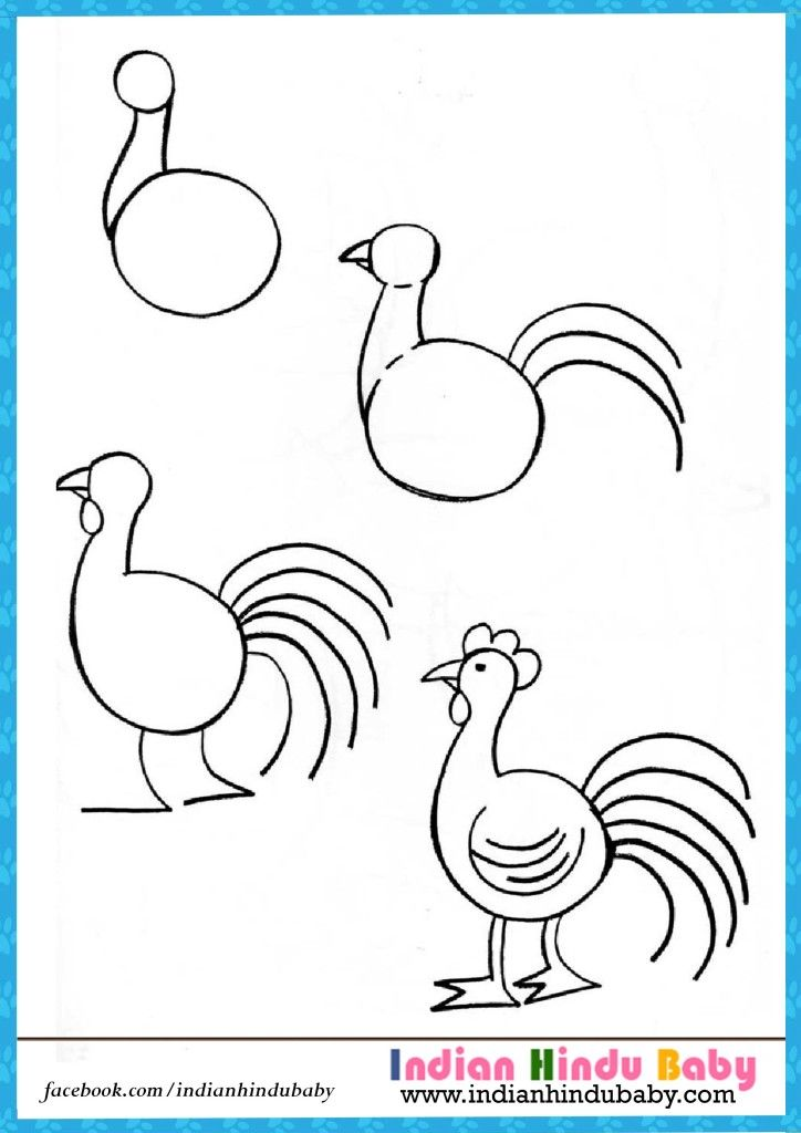 724x1024 Hen Step By Step Drawing For Kids 724x1024.jpg