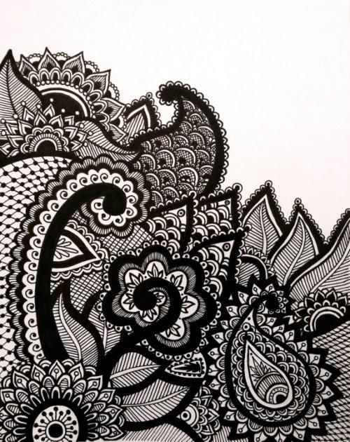 500x630 Henna Patterns Tumblr Drawings