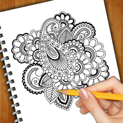 246x246 Learn How To Draw Henna Tattoos On The App Store
