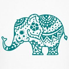 235x235 Indian Elephant Design