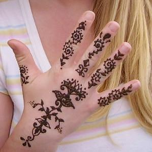 299x300 Henna Hand Drawing By Janet Gioffre Harrington