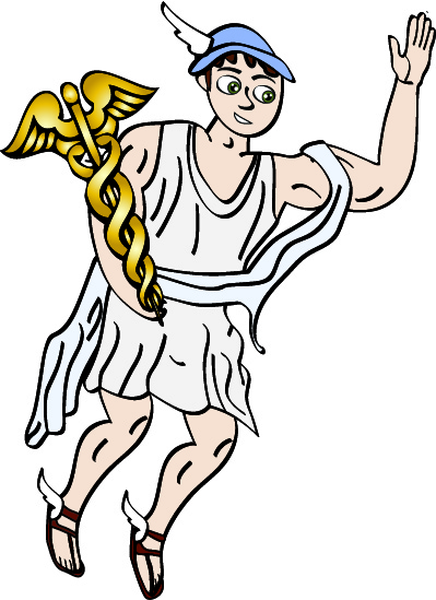 399x549 Art Inspiration The Greek Gods Distraction On Olympus Hermes