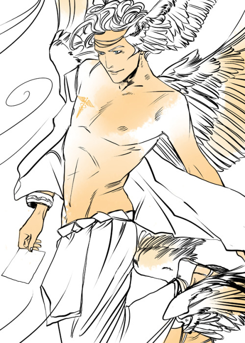 500x700 Hermes! God Of Commerce And Master Of Thieves! Cassandra Jean
