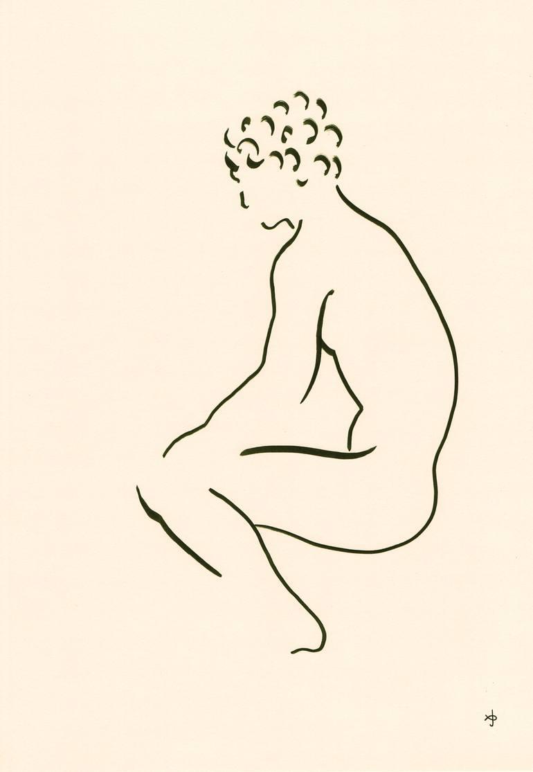 770x1115 Saatchi Art Hermes Drawing By David Jones