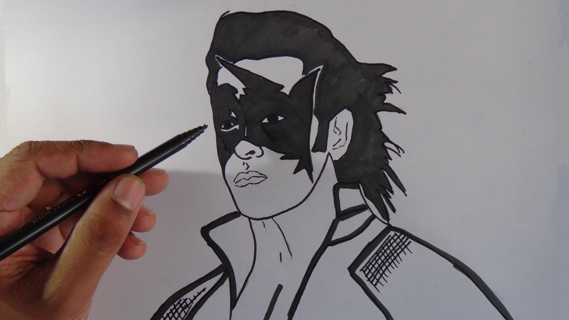 1920x1080 How To Draw Super Hero Krish