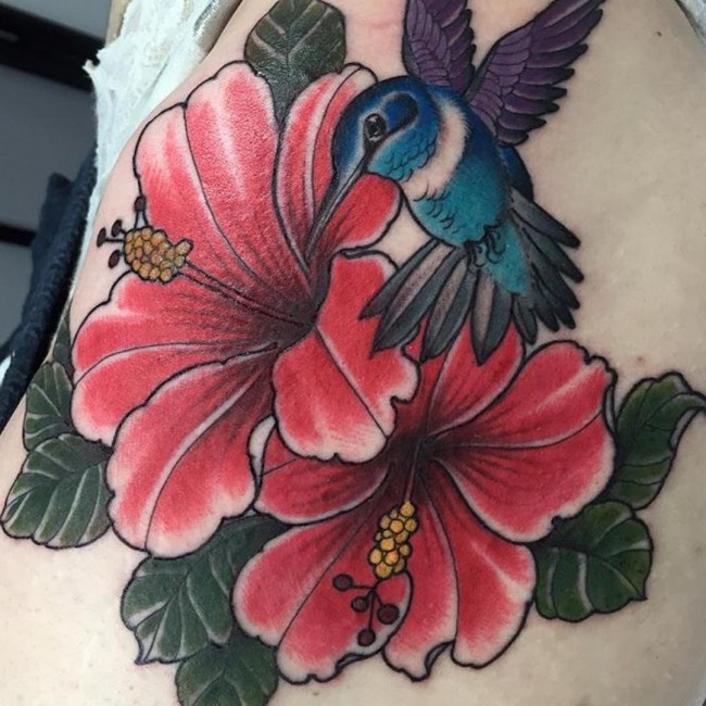 650x650 Best Hibiscus Flower Tattoo Meaning Amp Designs