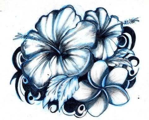 480x386 Hawaiian Flower Tattoo Designs Making Big Impression On Todays