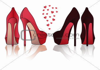 340x238 Image 4808059 High Heel Stiletto Shoes, Vector From Crestock