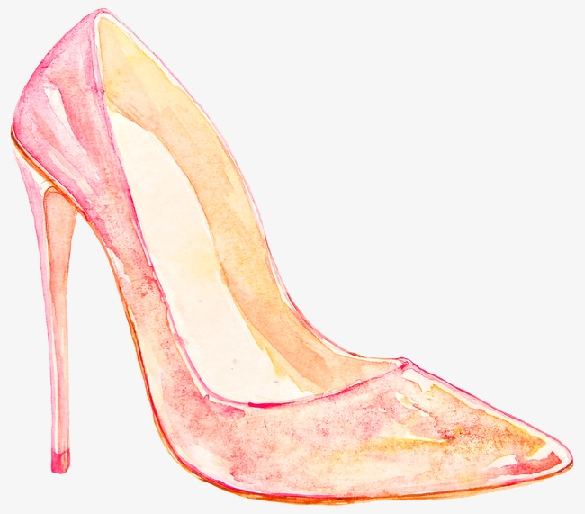 650x571 High Heeled Shoes, Shoe, Drawing Shoes, Hand Painted Shoes Png