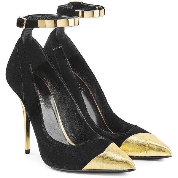 600x600 Balmain Leather And Suede Pumps (12.312.090 Vnd) Liked
