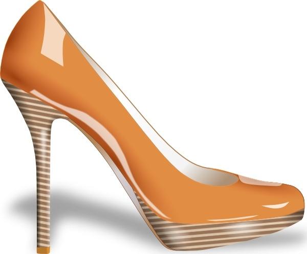 600x497 High Heels Shoes Clipart Clipartfest 2