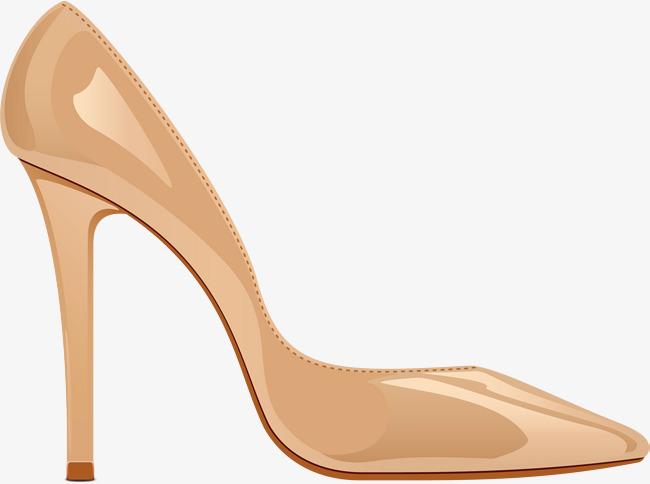 650x484 Cartoon High Heels Vector, High Heeled Shoes, Cartoon Hand Drawing