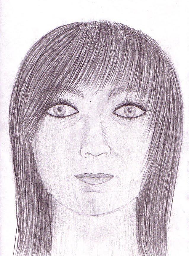 638x864 Highschoolart Self Portrait With Mirror Drawing High School Art