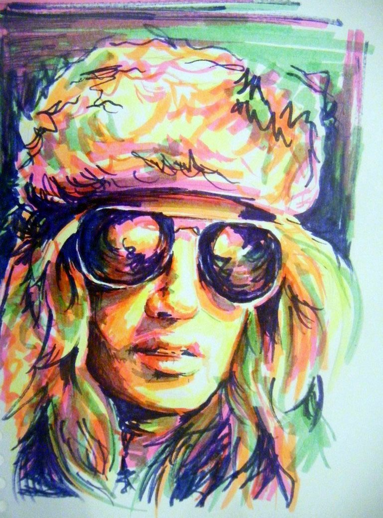 769x1040 Drawing Done With Highlighters Art Art Art