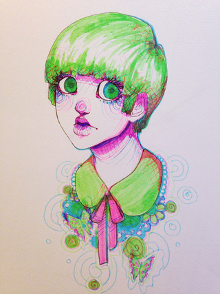 320x427 Highlighter Drawing Of Guro I Forgot About