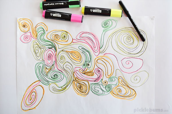 600x397 Three Quick And Easy Drawing Activities