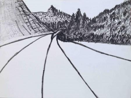450x335 Lee Ranaldo Archive Lost Highway Drawings