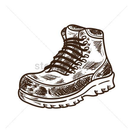450x450 Free Hiking Boot Stock Vectors Stockunlimited