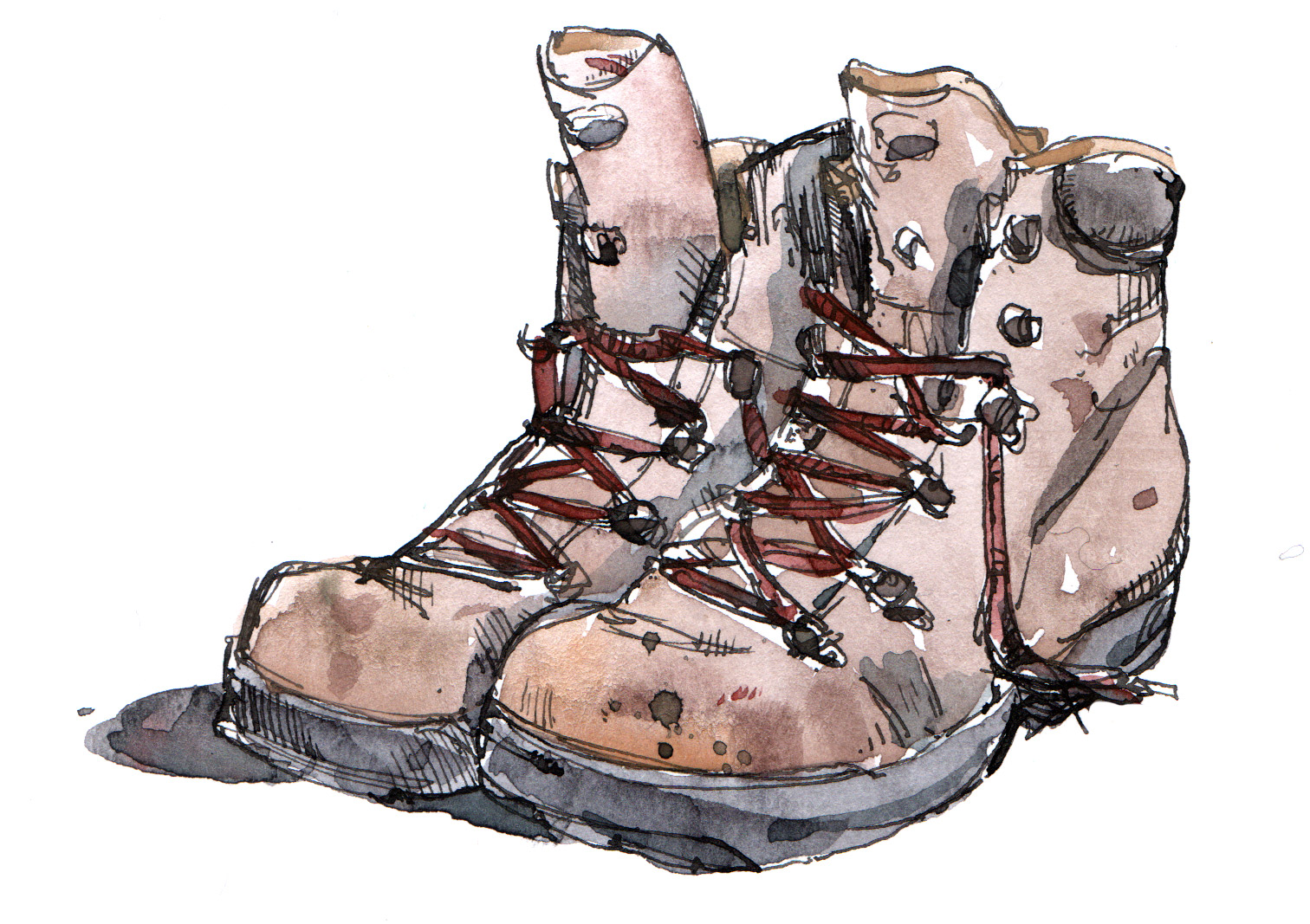 1512x1067 Walking Boots Iain Welch Art And Design