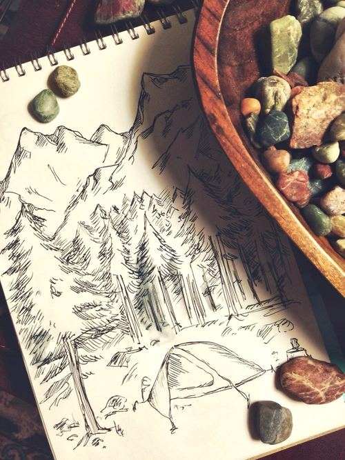 500x667 Drawing Via Tumblr Uploaded By Nikolett Szabo