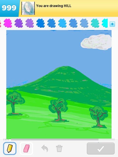 500x667 Hill Drawings