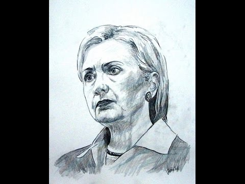 480x360 How To Draw Hillary Clinton Properly