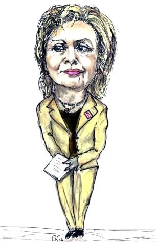 305x481 Hillary Clinton Political Satire, Humor, Cartoons And Funny