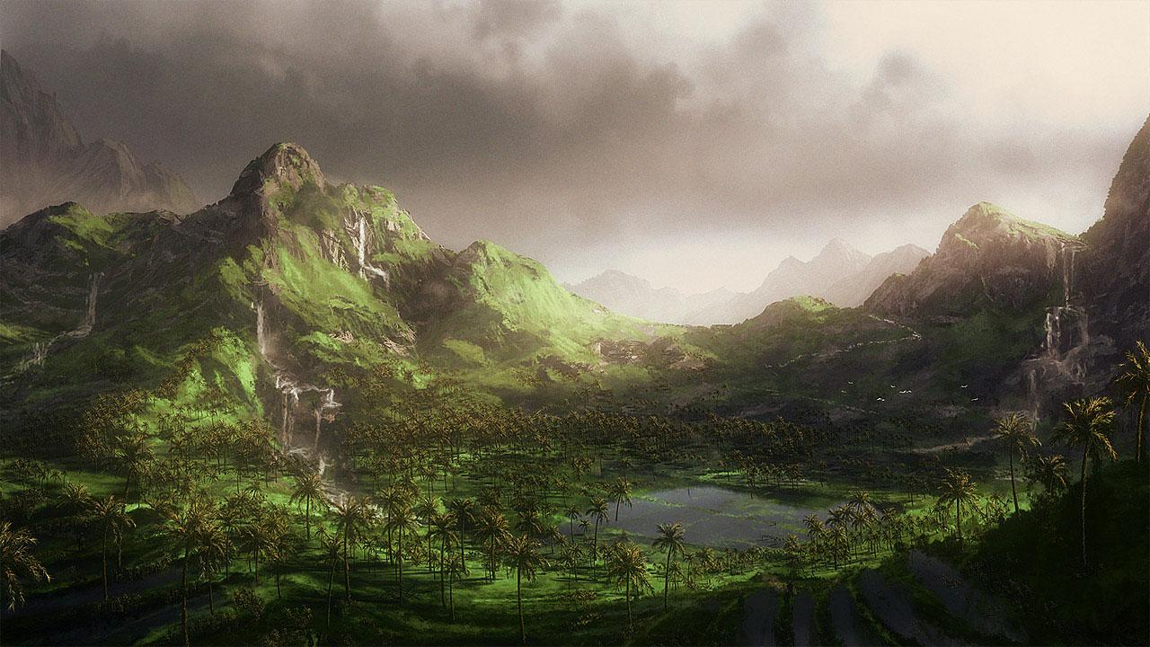 1280x720 Green Hills