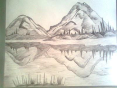 400x300 I Luv 2 Draw Hills . Art Lt3 Scenery