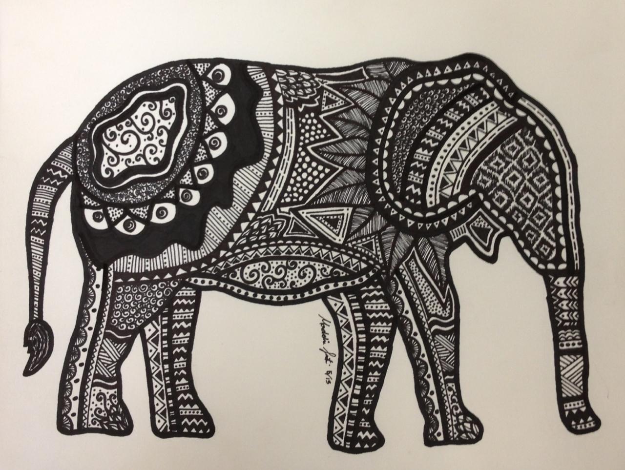 1280x963 Animal Drawings Tumblr Hindu Elephant Drawing Tumblr
