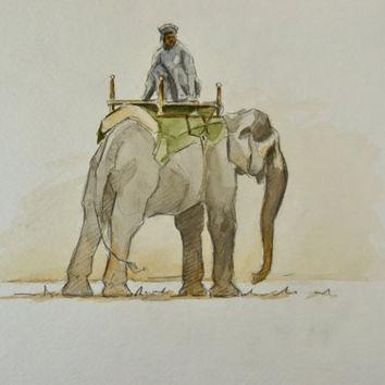 354x354 Shop Indian Elephant Painting On Wanelo