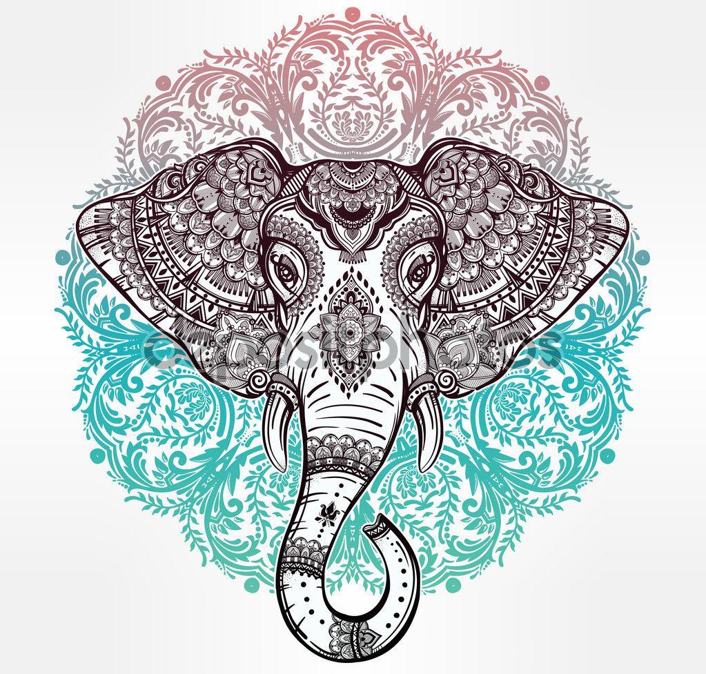 1023x977 Elefante Hindu Para Imprimir