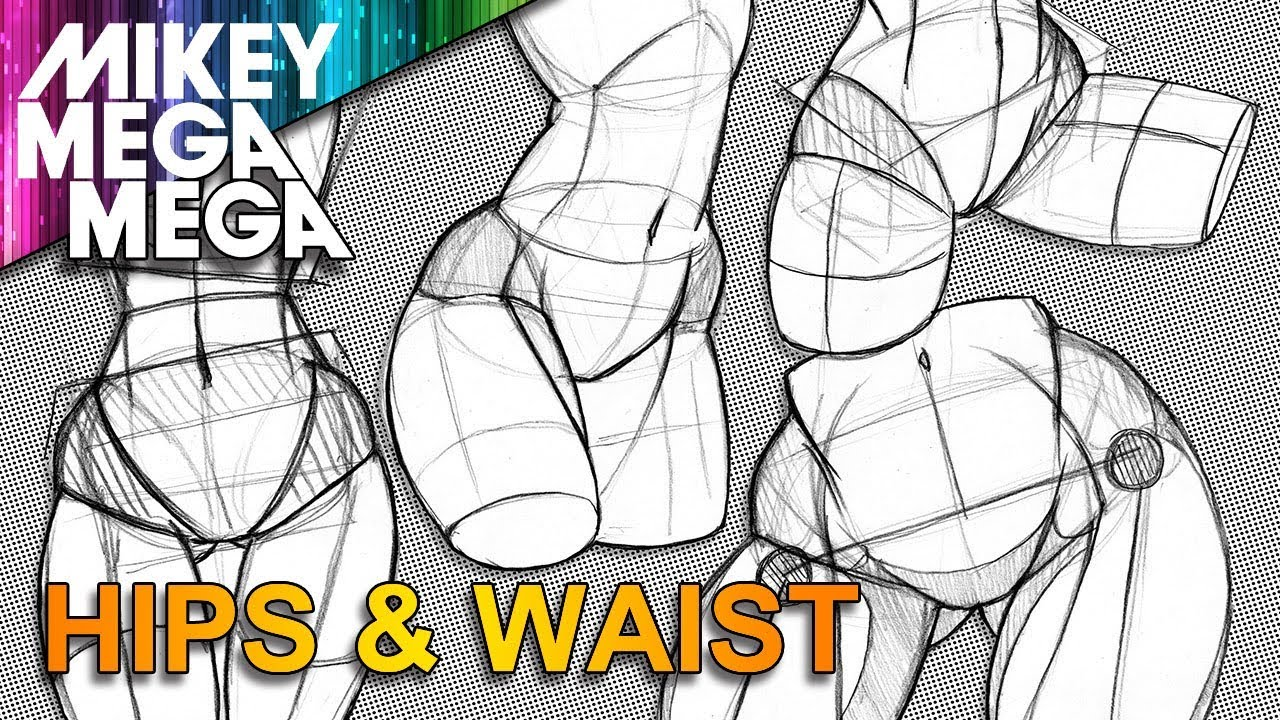 1280x720 How To Draw Hips Amp Waist
