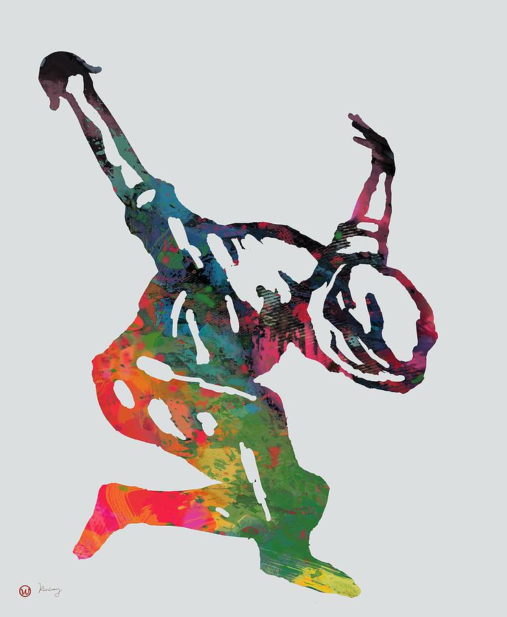 740x900 Hip Hop Street Dancing Pop Art Poster
