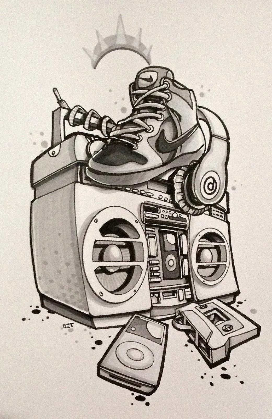 1041x1600 Hip Hop Tattoo Designs For Men