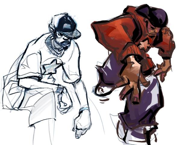 600x481 Mermuse Sketchbook Hip Hop Figure Studies