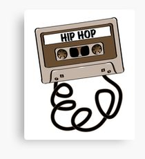 210x230 Old School Hip Hop Drawing Canvas Prints Redbubble