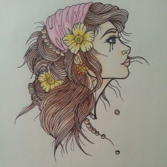 Hippie Drawing Ideas At Getdrawings Com Free For Personal Use