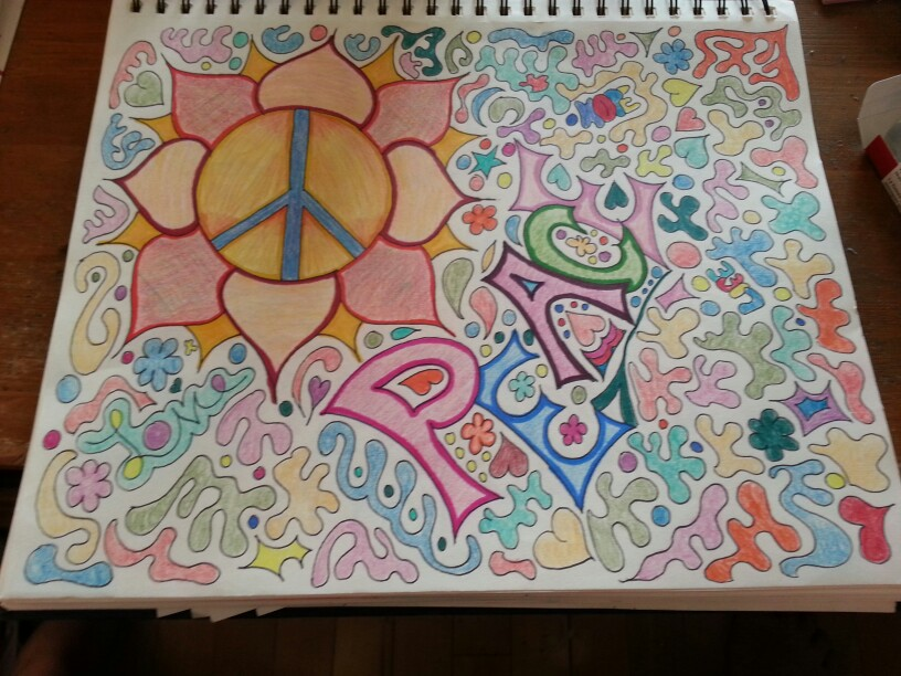 816x612 Hippie Drawing Art Hippie Drawing, Drawings