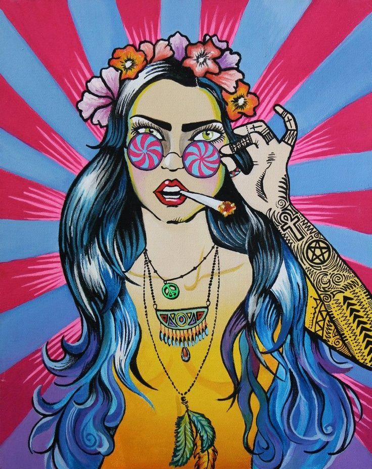 736x927 Hippie Paintings Best 25 Hippie Art Ideas On Hippy Art