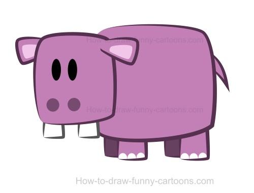 500x381 A Hippo