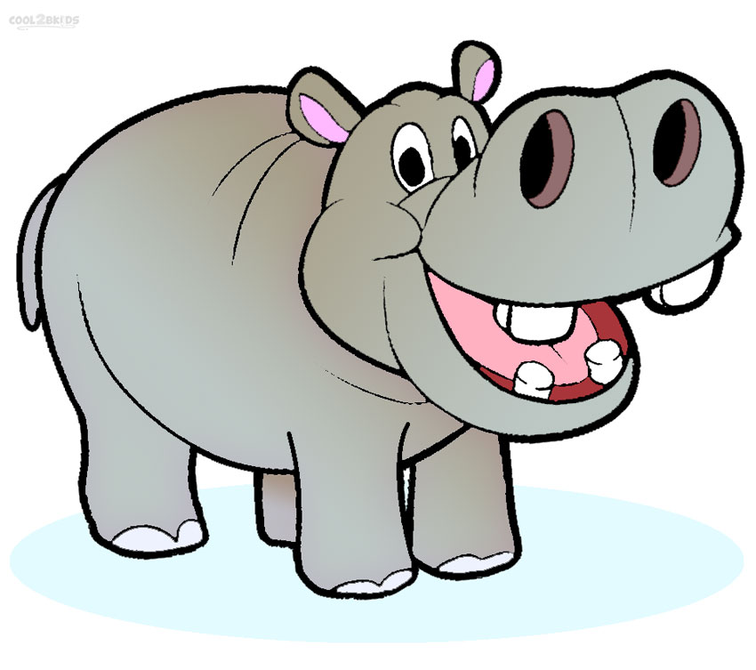 850x753 Printable Hippo Coloring Pages For Kids Cool2bkids