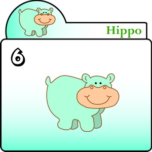 300x300 How To Draw A Hippo Hippo Theme Drawing Lessons