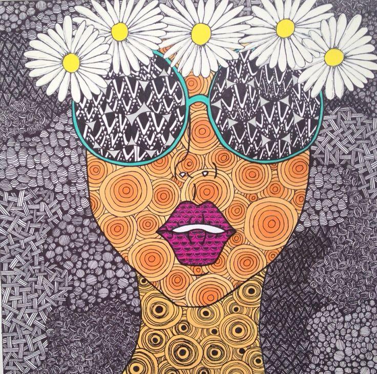 Hippy Drawing At GetDrawings