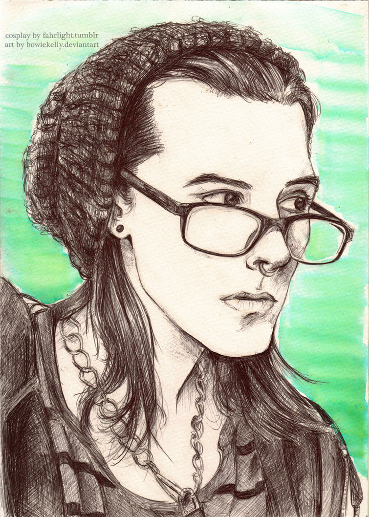 755x1058 Hipster Loki Drawn From Cosplay By BowieKelly On DeviantArt
