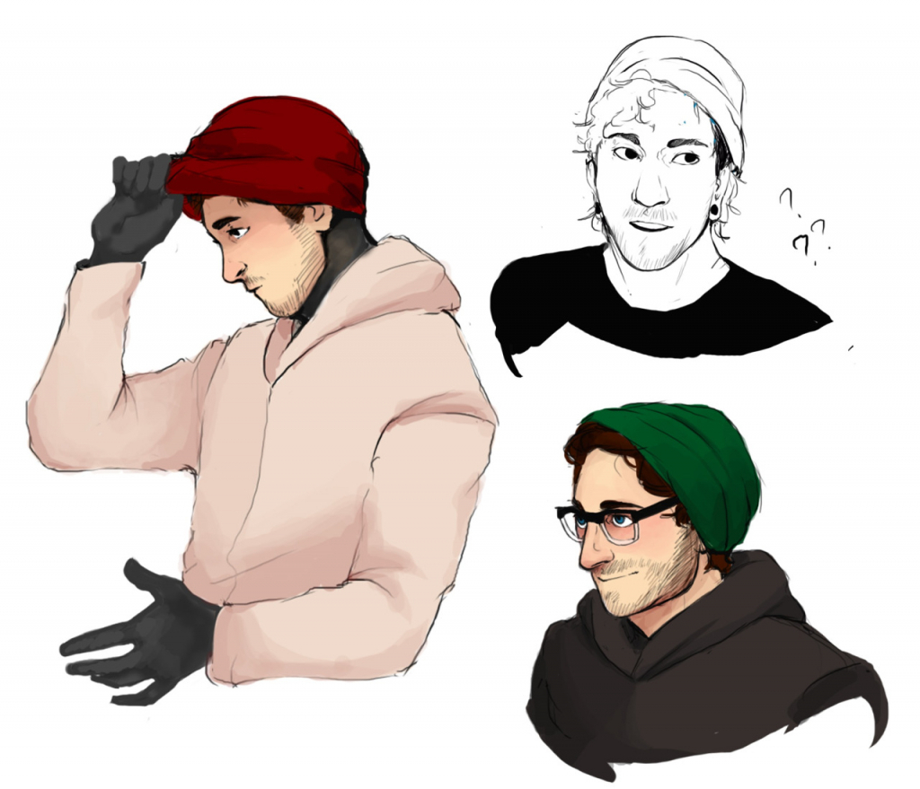 1024x879 Tumblr Cartoon Drawings Boy Cute Hipster
