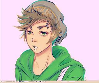 320x269 Anime Hipster Boy